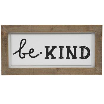 Be Kind Metal Wall Decor
