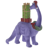 Purple Brontosaurus & Presents