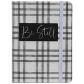 Be Still Plaid Notebook