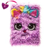 Purple Unicorn Fuzzy Journal