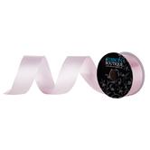 "Cameo Pink Silky Double-Face Satin Ribbon - 1 1/2"""