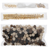 Wood Bead Bracelet Kit
