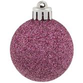 Glitter Mini Ball Ornaments
