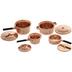 Miniature Copper Pans