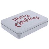 Merry Christmas Galvanized Gift Card Holder