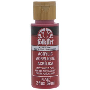 Lipstick Red FolkArt Acrylic Paint