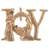 Joy Nativity Ornament