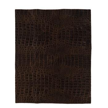 Caiman Light Brown Leather Trim Piece