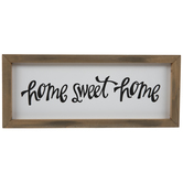 Home Sweet Home Wood Decor