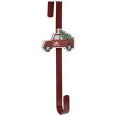 Red Truck Wreath Hanger