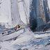 Embellished Sailboats Canvas Wall Decor