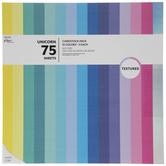 "Unicorn Textured Cardstock Paper Pack - 12"" x 12"""