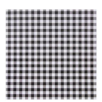 "White & Black Buffalo Check Scrapbook Paper - 12"" x 12"""
