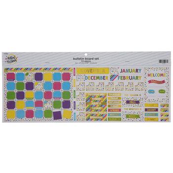 Confetti Calendar Bulletin Board Set