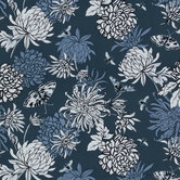 Insects & Flowers Duck Cloth Fabric