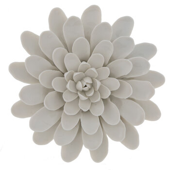 White Flower Wall Decor - Large