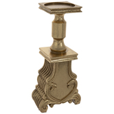 Gold Ornate Candle Holder