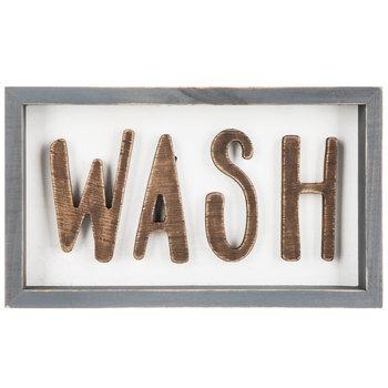 Wash Wood Wall Decor