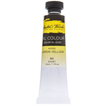 Lemon Yellow Master's Touch Oil Paint - 1.7 Ounce