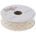 Ivory Cotton Lace Ribbon - 1