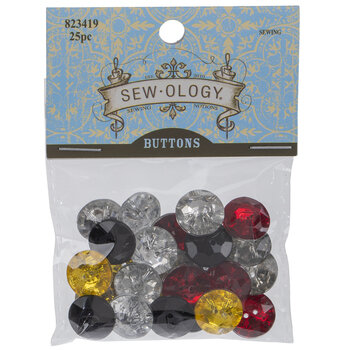 Round Faceted Buttons