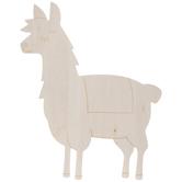Llama Wood Shape