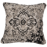Black & White Jacquard Pillow Color