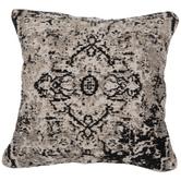 Black & White Jacquard Pillow Color