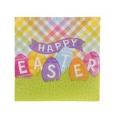 Happy Easter Plaid Napkins