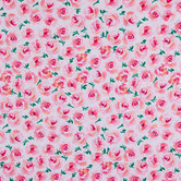 Bright Watercolor Rose Knit Fabric