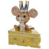 Mouse & Cheese Jewelry Box