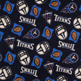 NFL Tennessee Titans Fleece Fabric