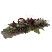 Pinecone & Berry Foliage Centerpiece