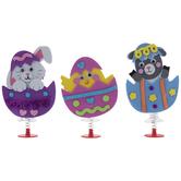 Animals In Eggs Jump-Up Foam Craft Kit