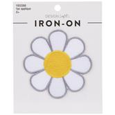 Daisy Flower Iron-On Applique
