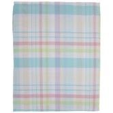 "Plaid Pastel Tablecloth - 60"" x 120"""