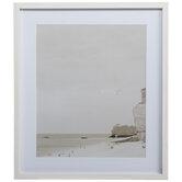 Beige Beach Framed Wall Decor