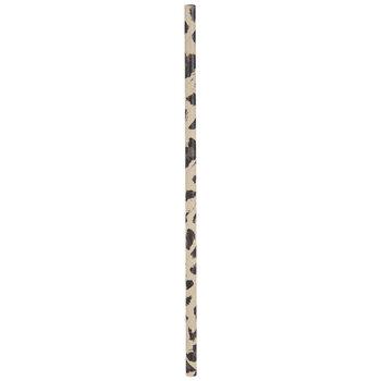 Sketched Leopard Print Paper Straws