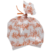 Orange Thankful Treat Bags
