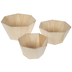 Geometric Wood Container Set