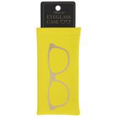Yellow & Gold Frames Eyeglass Case