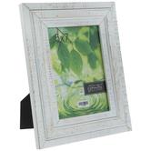 "Whitewash Rustic Wood Frame - 5"" x 7"""