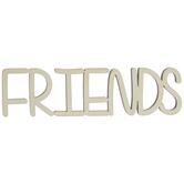 Friends Wood Cutout