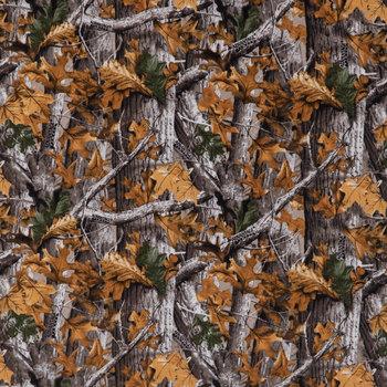 Real Tree Camo Flannel Fabric