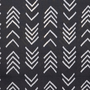 Bogolan Black Outdoor Fabric