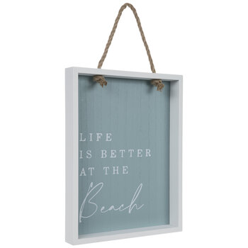 Life Is Better At The Beach Wood Wall Decor