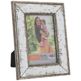"Distressed Mirror Frame - 4"" x 6"""