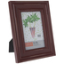Red Distressed Wood Frame - 4