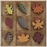 Wood Fall Leaves
