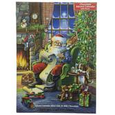 Santa Claus Advent Calendar With Chocolates